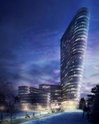 The skyscraper is planned to reach 30 stories and stand 118 meters tall.