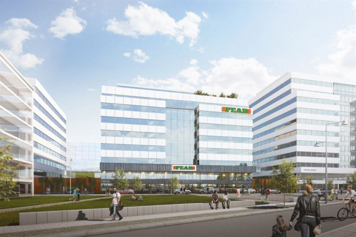 Peab develops in Solna.
