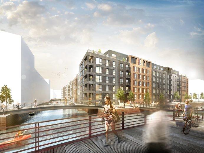 KPC Constructs Apartments for Danica Ejendomme