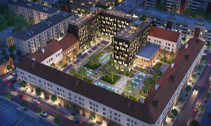 Bonum Utvikling plans 85 new apartments.