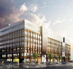Swedbank's new office.