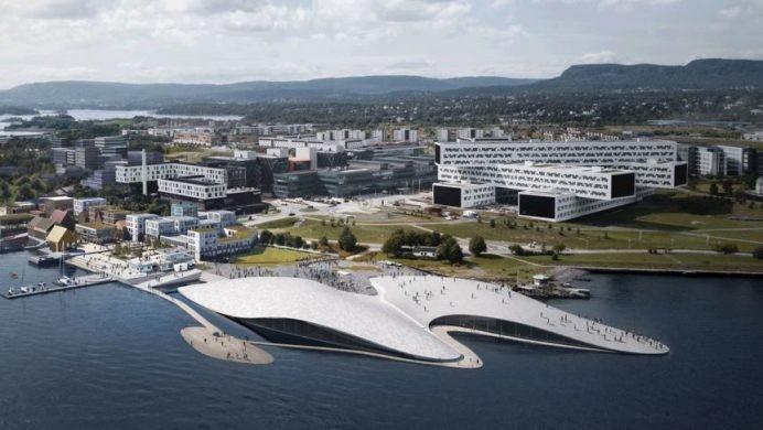 New aquarium in Fornebu.