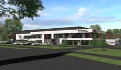 The new headquarters.