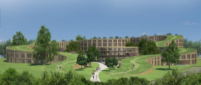 New apartments to Lyngby.