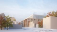 The new multi-purpose building.