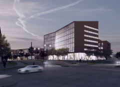 The new complex will be located next to the Ratina shopping center.