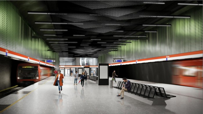 YIT and Are to Build the Kaitaa Metro Station in Espoo.