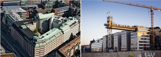 Atrium Ljungberg and Folksam swaps properties.