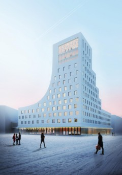 Skanska develops and sells hotel i Kiruna.
