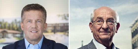 Ilija Batljan and Martin Mæland.