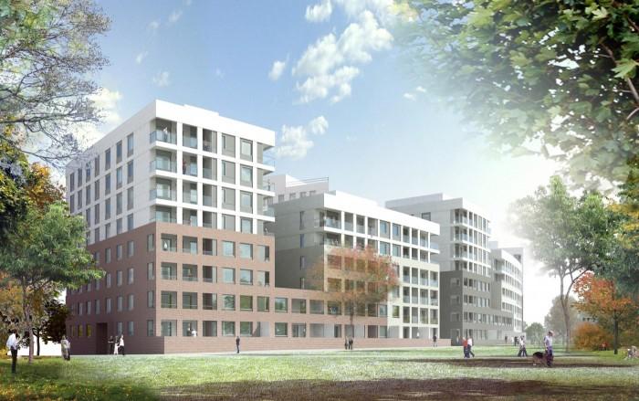 Skanska Builds 265 Apartments in Helsinki.