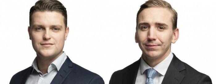 Linus Tillander and Robert Jones.