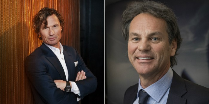 Petter Stordalen, Nordic Choice and Per G. Braathen, Scandic Hotels.