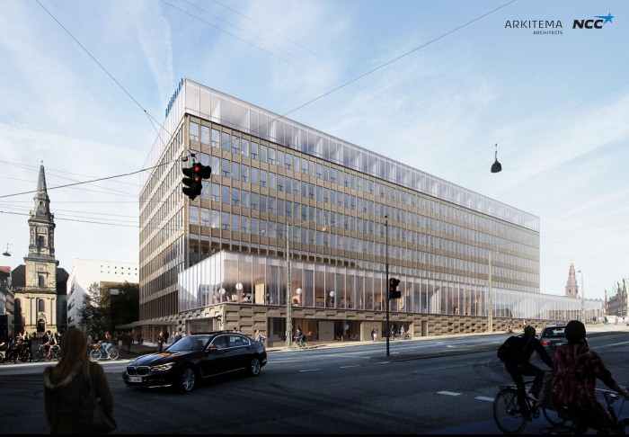 NCC to Convert Offices Into a New Hilton Hotel in Copenhagen.