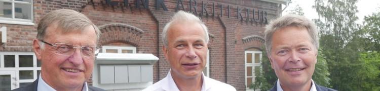 Trond Dahle, Multiconsult, Rolf Maurseth, Link arkitektur och Christian N Madsen, Multiconsult.