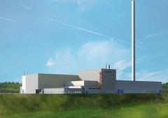 Skanska builds new foundry for Scania in Södertälje.