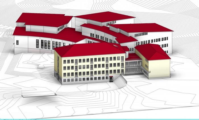 Skanska Renovates and Extends Public School in Lahti.