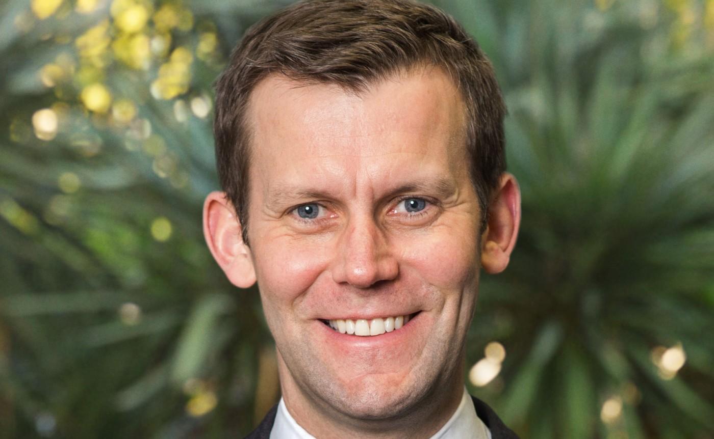James Robson, Managing Director at American giant Hines Nordics Real Estate.