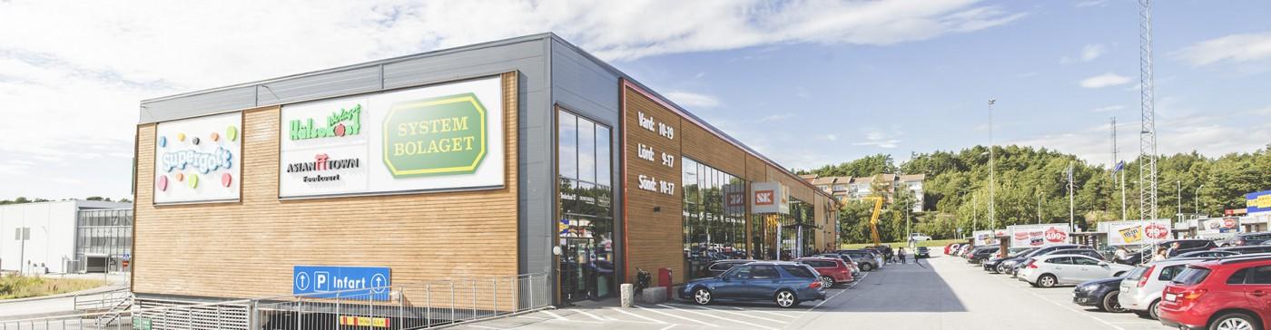 Strömstad Köpcenter.