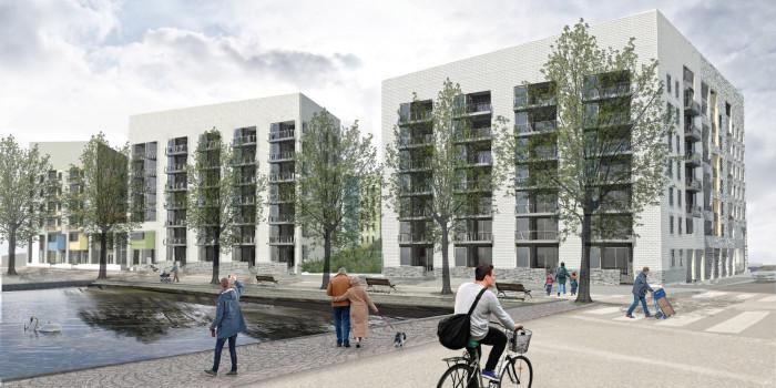 Skanska builds residential block in Helsinki.