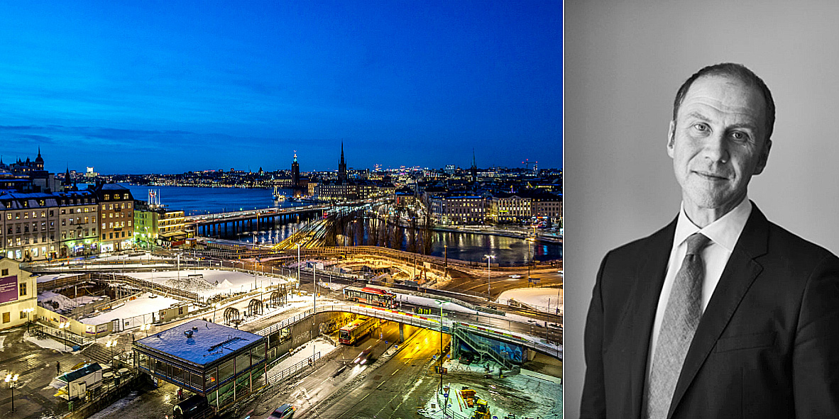 Joen Siggelin sees more and more interest in the Swedish property market.