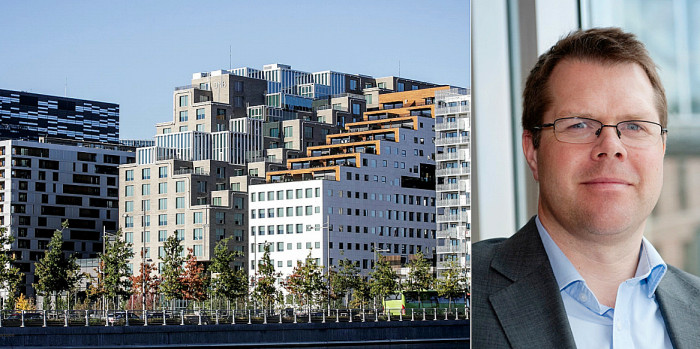 Truls Cook Tollefsen is looking forward to own the DNB Bank HQ.