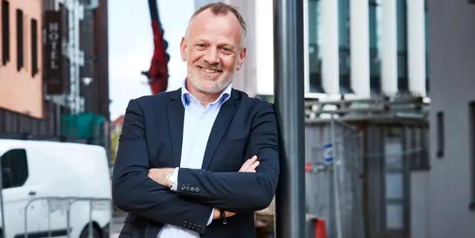 Robbin Feddern, CEO of AG Gruppen.