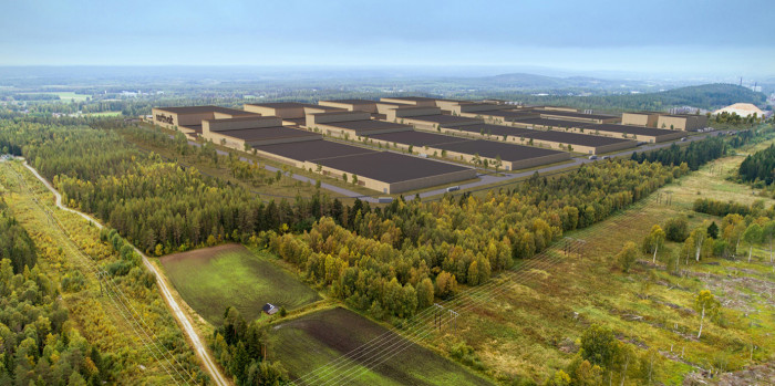 Northvolt will establish Europe's largest factory for batteries in northern Sweden.