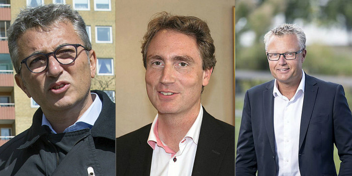 Erik Selin, Greg Dingizian and Peter Strand are three of four founders of SLP.