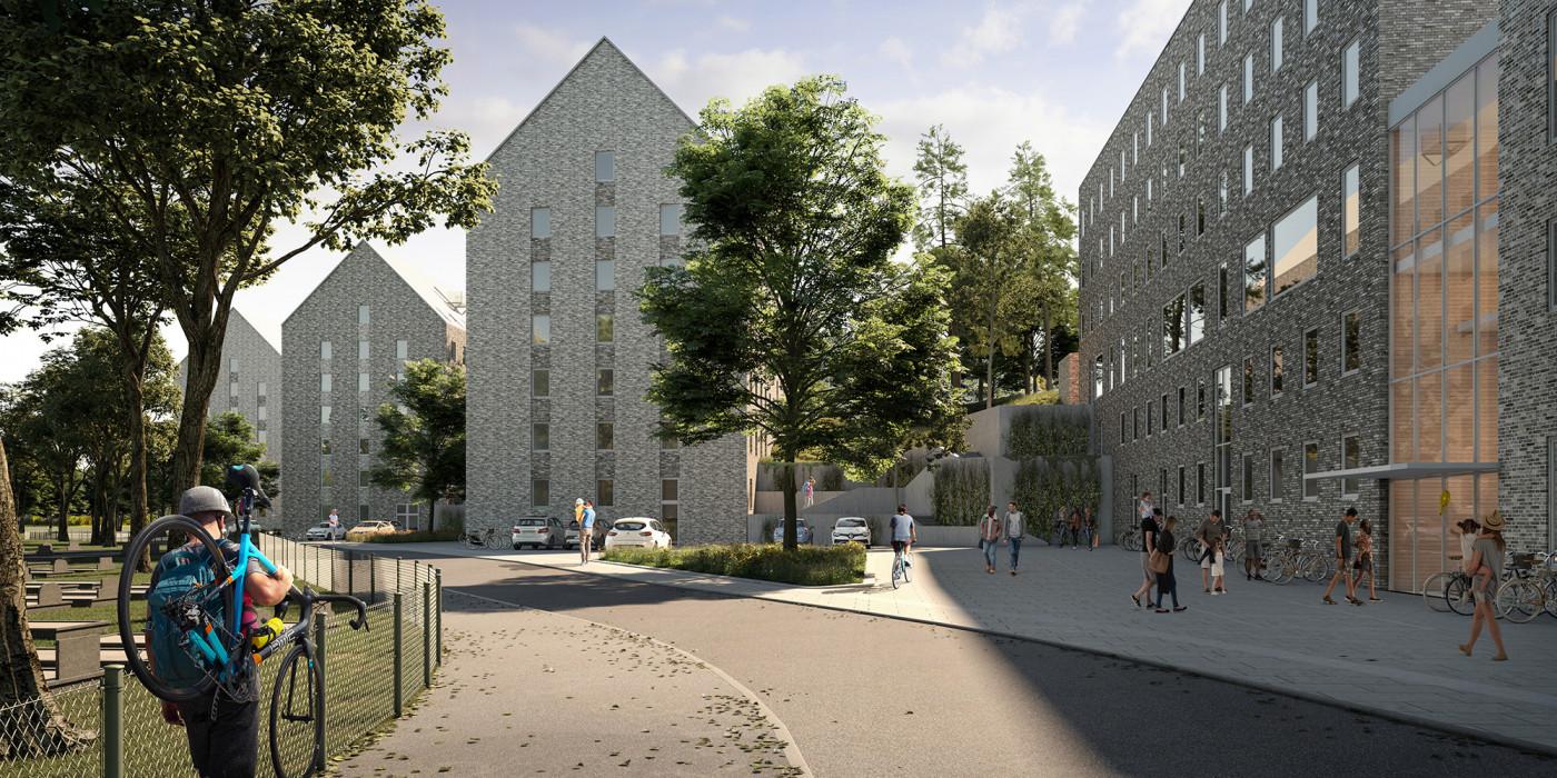 Skanska builds student apartments in Gothenburg.
