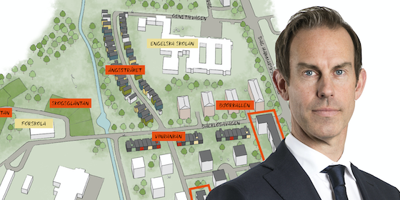 The project in Uppsala and Rickard Dahlberg, Partner and founder of NREP.