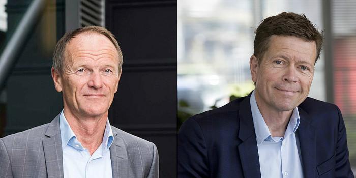 Gunnar Gjørtz and Søren Risager-Hansen.