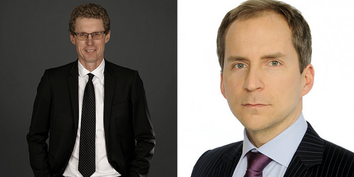 Erik Björkeson and Jaakko Klemettilä, DLA Piper.