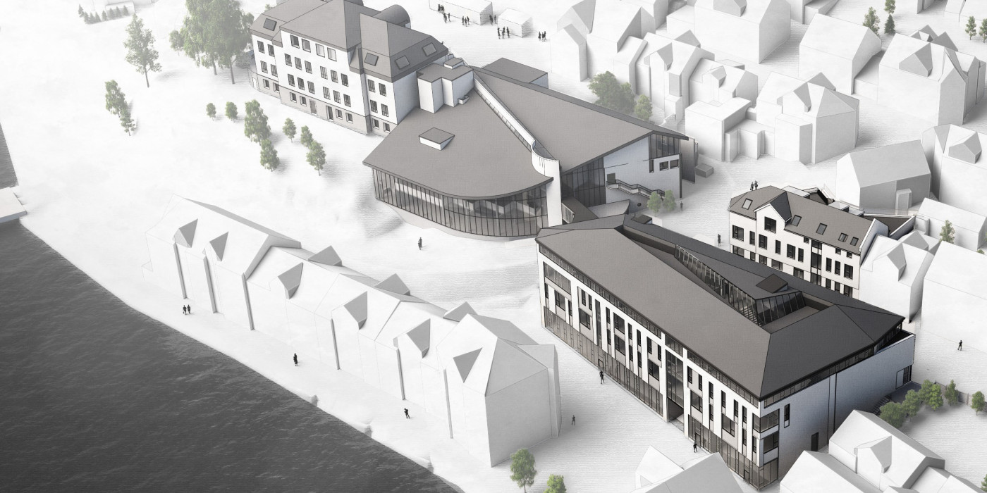Veidekke will  new school building and renovate existing buildings at Eilert Sundt upper secondary school in Farsund.