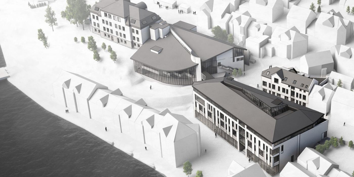 Veidekke will  new school building and renovate existing buildings at Eilert Sundt upper secondary school in Farsund.