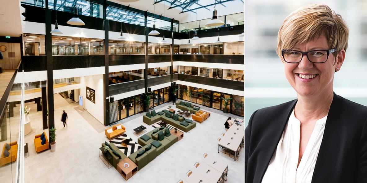 Gro Boge, CEO of DNB Næringseiendom.