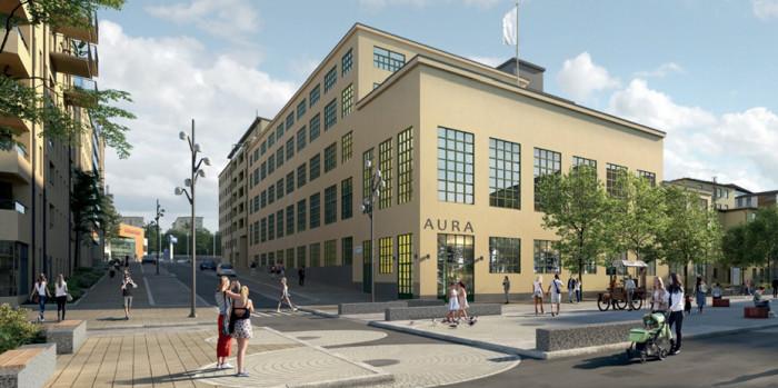 Transformerverkstaden, Hammarby Sjöstad, Stockholm
