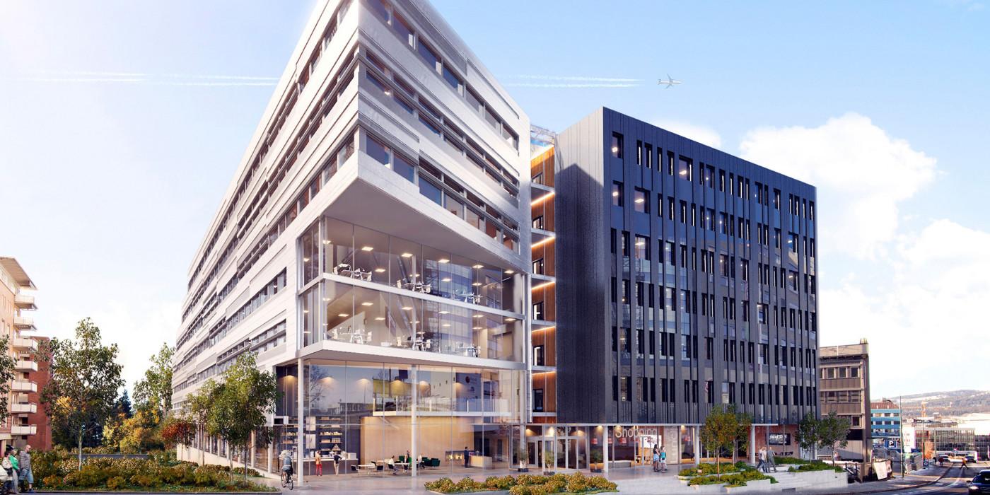 Skanska sells an Oslo office property to DNB Scandinavian Property Fund.