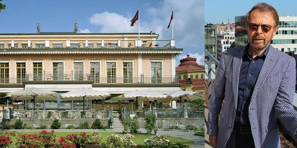 Hotel Hasselbacken and Björn Ulvaeus.