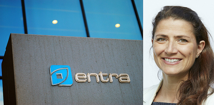 Sonja Horn will take up the CEO position at Entra as of July 1, 2019.