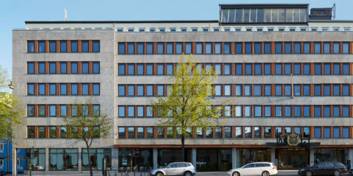 Union Investment acquires an office building in Stockholm.