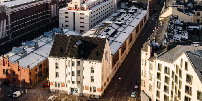 Antilooppi sold a former warehouse building in Katajanokka, Helsinki.