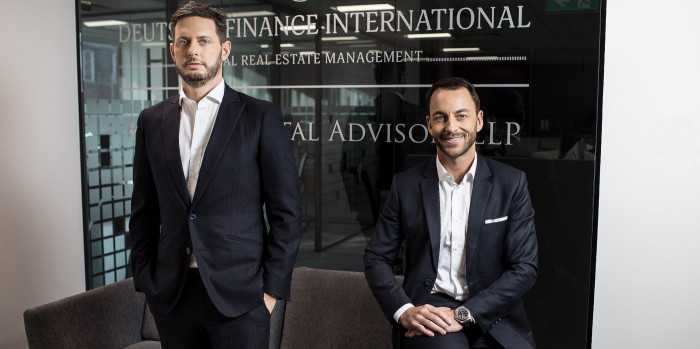 Gavin Neilan and Frank RoccoGrande, Co-founders and Co-Managing Partners at Deutsche Finance International.