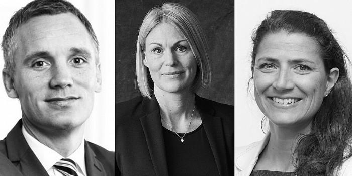 Lars Pærregaard, Jenny Lindholm and Sonja Horn are all in the list below.