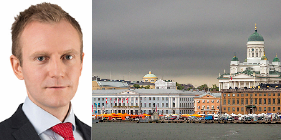 The New Finnish CEO at JLL, Christian Hohenthal.