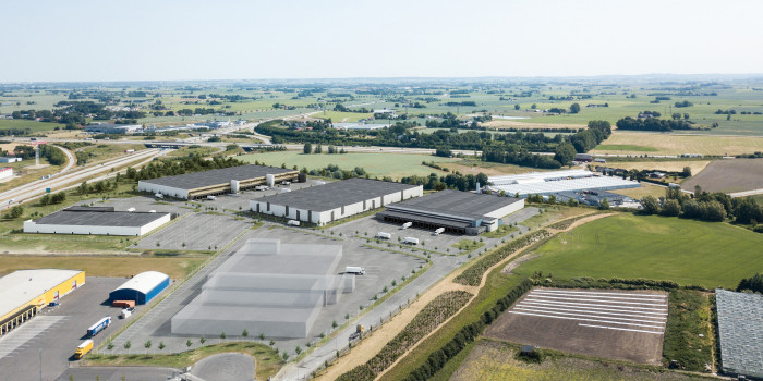 Catena invests SEK 150 million at logistics position.