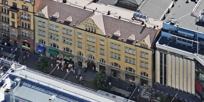 EQ acquires a building on Hämeenkatu 19 in Tampere.