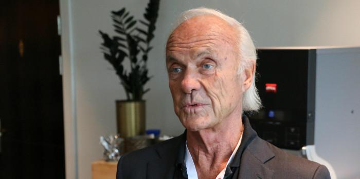 Sven-Olof Johansson, CEO of Fastpartner.