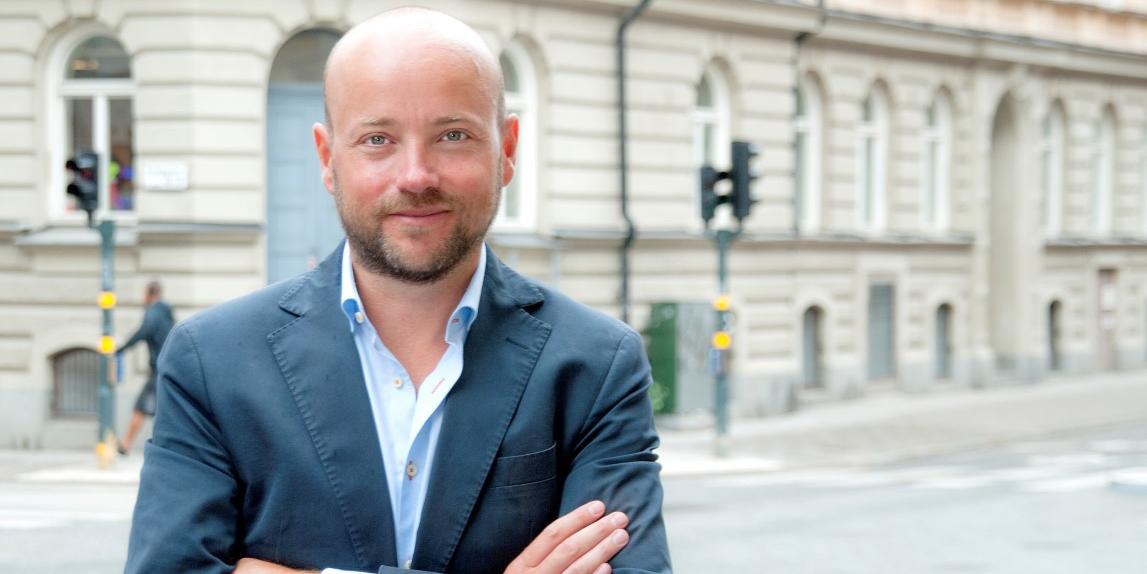 Pål Ahlsén, CEO of Akelius.