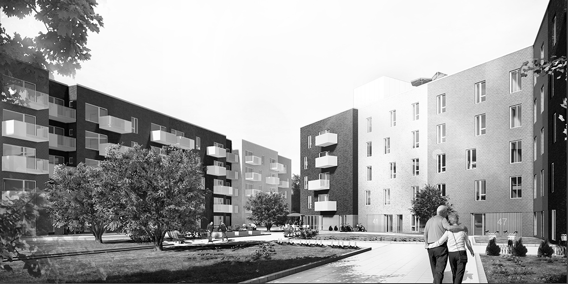 PFA builds large elder care home in Odense.